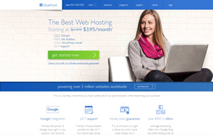 Have a look at the homepage of Bluehost