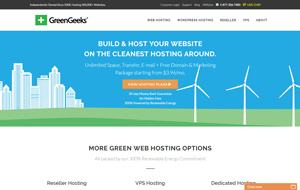Have a look at the homepage of GreenGeeks
