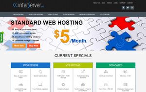 Have a look at the homepage of Interserver