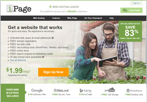 Have a look at the homepage of iPage